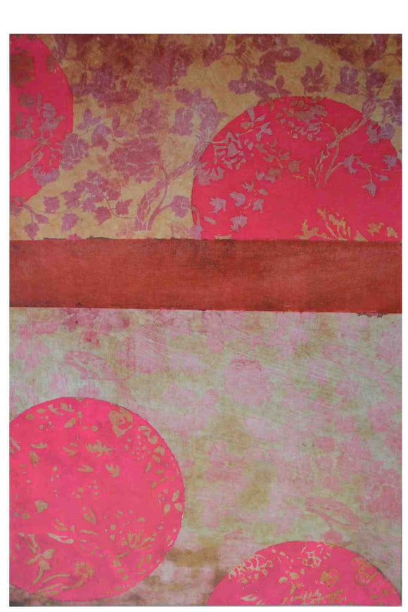 Chinese Pink- Offset on Canvas Gallery Wrap Ready to Hang