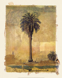 "Palm Study #1 by Donald Farnsworth - 19 X 24"" - Fine Art Poster."
