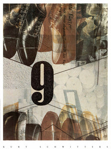 Kurt Schwitters - Collage 9, 1930
