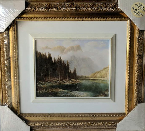 View of the Mountain - (Framed Giclee on Masonite Ready to Hang)