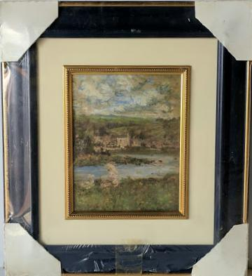 Landscape - (Framed Giclee on Masonite Ready to Hang)