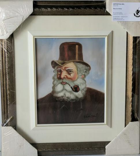 Vincent - (Framed Giclee on Masonite Ready to Hang)