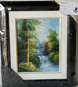 Landscape - (Framed Oil Painting on Canvas Ready to Hang)