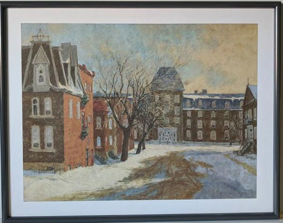 Montreal, 1934 - (Framed Giclee on Masonite Ready to Hang)