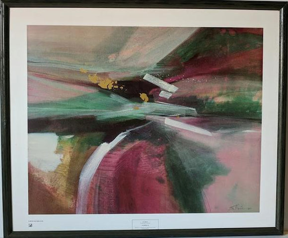 Journey II - (Framed Giclee on Masonite Ready to Hang)