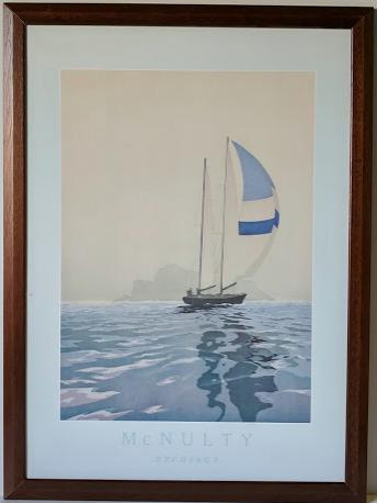 Etchings - (Framed Giclee on Masonite Ready to Hang)