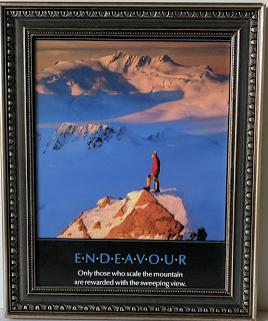 Endeavour - (Framed Giclee on Masonite Ready to Hang)