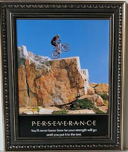 Perseverance - (Framed Giclee on Masonite Ready to Hang)