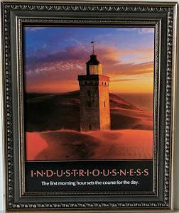 Industriousness - (Framed Giclee on Masonite Ready to Hang)