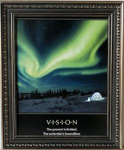 Vision - (Framed Giclee on Masonite Ready to Hang)