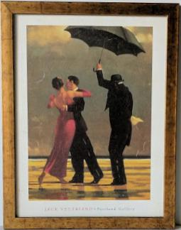 The Singing Butler by Jack Vettriano - 13 X 17