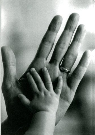 Mum and Baby's Hands by Andy Caulfield - 5 X 7 Inches (Greeting Card)