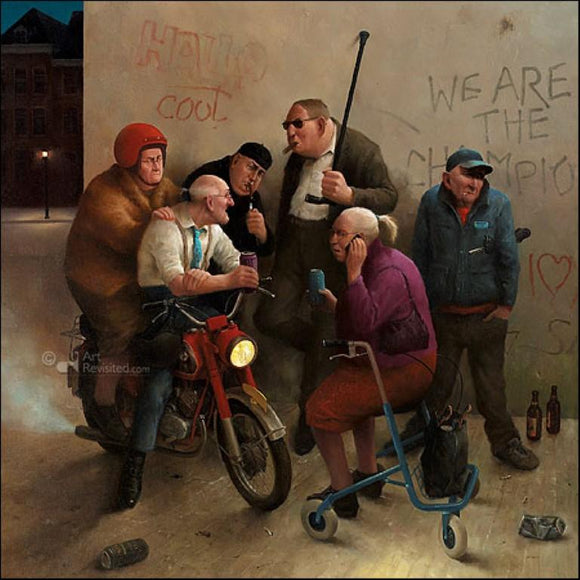 Second Youth by Marius van Dokkum - 6 X 6