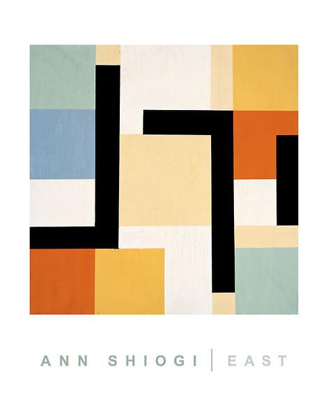 East by Ann Shiogi - 22 X 28