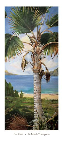 Fan Palm by Deborah Thompson - 17 X 39