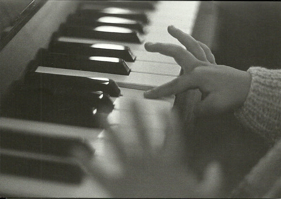 Joaquim on the Piano, 1989 by Bernard Plossu - 5 X 7 Inches (Greeting Card)