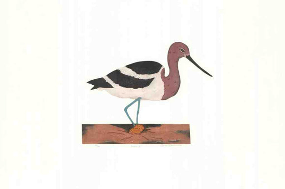 Avocet III (Lithograph Numbered & Signed) 20/100