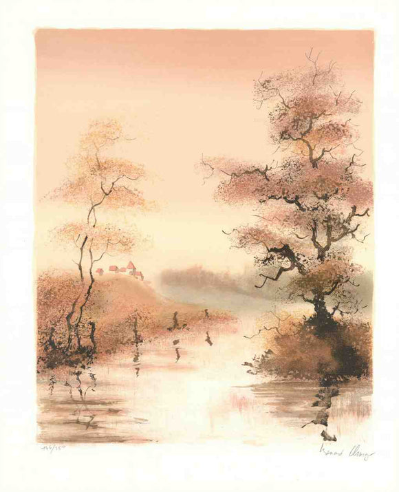 Autumn (Lithograph Numbered & Signed) 144/250