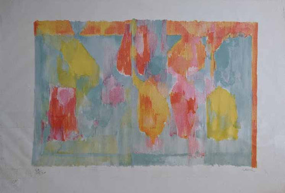 Abstract (Lithograph Numbered & Signed) 39/220