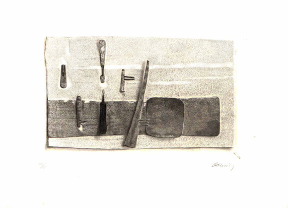 Downing #1 (Etching Numbered & Signed in Pencil by the Artist) 125/125