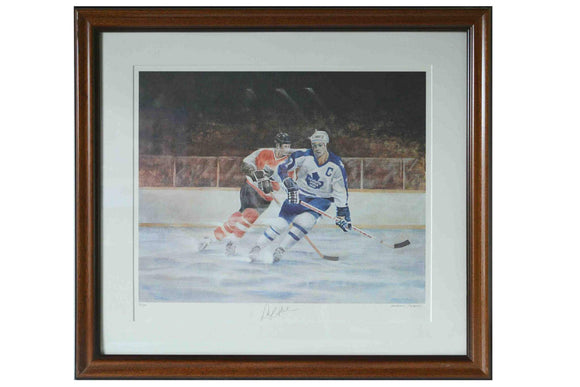 Darryl Sittler Toronto Maple Leafs by Mervyn Scoble - 25 X 28