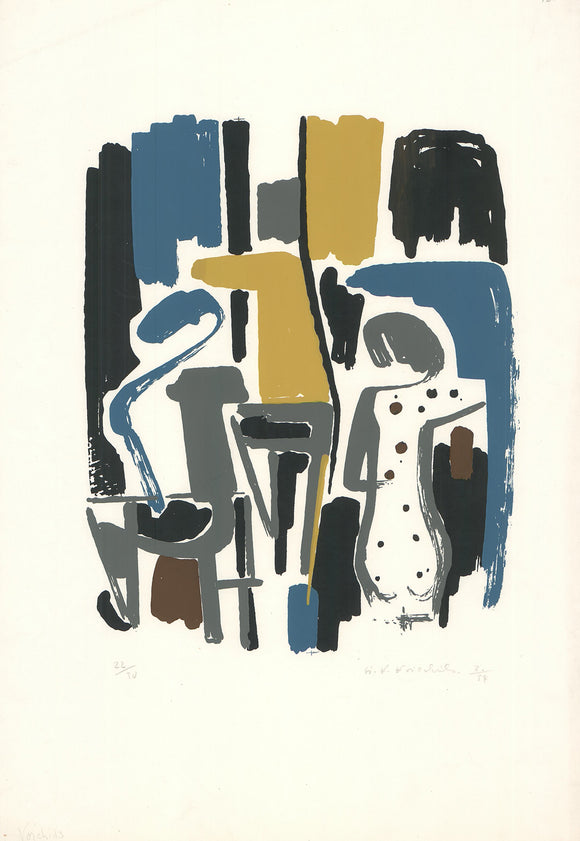 No. 23 (Lithograph Numbered & Signed) 22/30