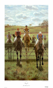 Running In by John Havell - 20 X 33 Inches - Fine Art Poster.