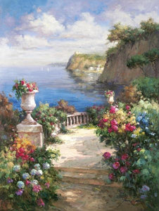 "Tranquil Overlook by James Reed - 24 X 30"" - Fine Art Poster."