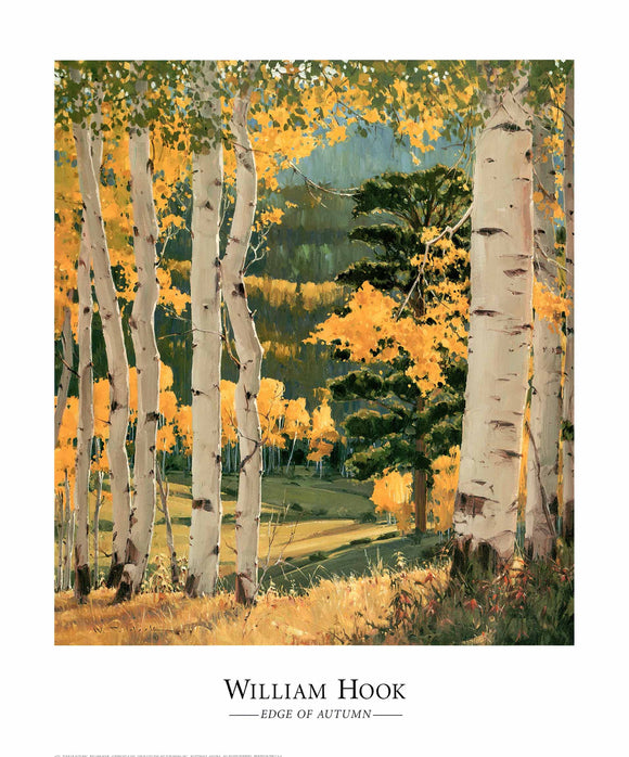 Edge of Autumn by William Hook - 27 X 32
