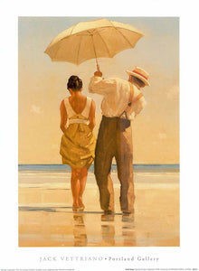 "Mad Dogs by Jack Vettriano - 12 X 16"" - Fine Art Posters."