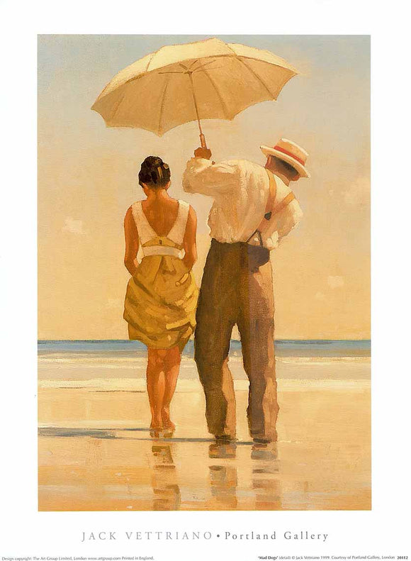 Mad Dogs by Jack Vettriano - 12 X 16