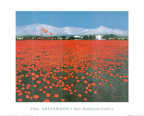 Red Haze by Phil Greenwood - 16 X 20