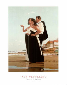 "The Missing Man II by Jack Vettriano - 16 X 20"" - Fine Art Posters."