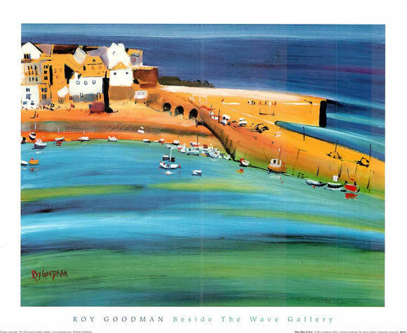 How Blue St Ives by Roy Goodman - 16 X 20