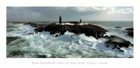 Phare De Slyne Head, Galway, Irland by Jean Guichard - 20 X 40