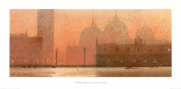 Xavier Carbanell - Dusk in Venezia