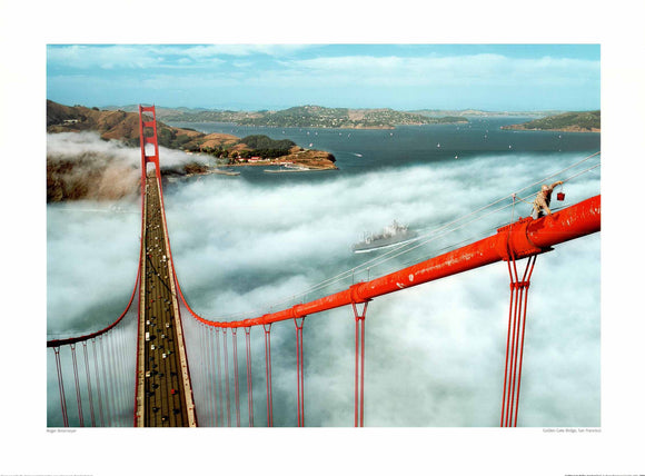 Golden Gate Bridge, San Francisco by Roger Ressmeyer - 24 X 32