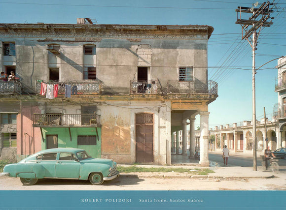 Corner of Santa Trene and Santos Suarez, Havana by Robert Polidori - 24 X 32