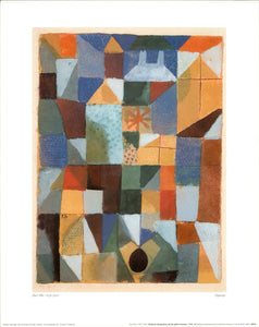"Cityscape, 1919 by Paul Klee - 16 X 20"" - Fine Art Poster."