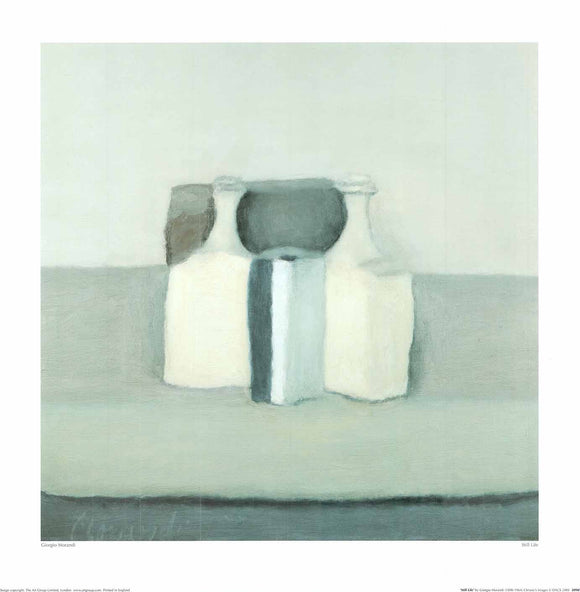 Still Life by Giorgio Morandi - 20 X 20 inches (Poster)