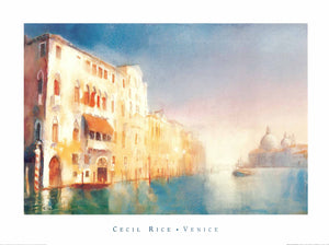 Cecil Rice - Palazzi, Grand Canal