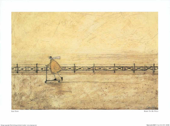 Born to be Wild by Sam Toft - 12 X 16