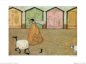"Along the Prom by Sam Toft - 12 X 16"" - Fine Art Poster."