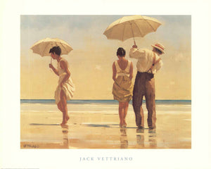 "Mad Dogs by Jack Vettriano - 16 X 20"" - Fine Art Posters."