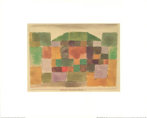 "Dunes, 1923 by Paul Klee - 16 X 20"" - Fine Art Posters."