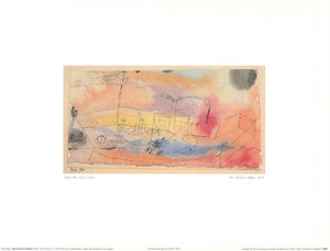 "The Fish in the Harbor, 1916 by Paul Klee - 12 X 16"" - Fine Art Posters."