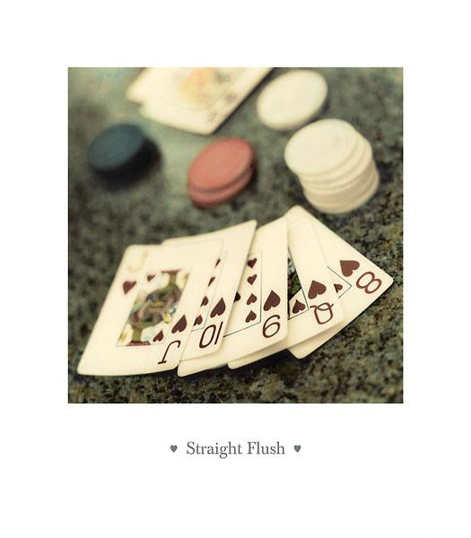 Straight Flush by Alan Blaustein - 14 X 16 Inches (Poster)