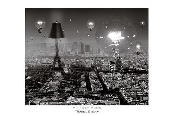 Paris, The City of Lights by Thomas Barbey - 24 X 36
