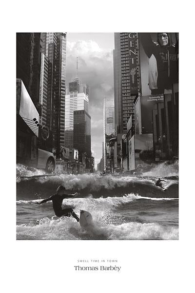 Swell Time in Town by Thomas Barbey - 24 X 36