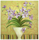 Purple Spring by Shelly Bartek - 12 X 12 Inches (Poster)